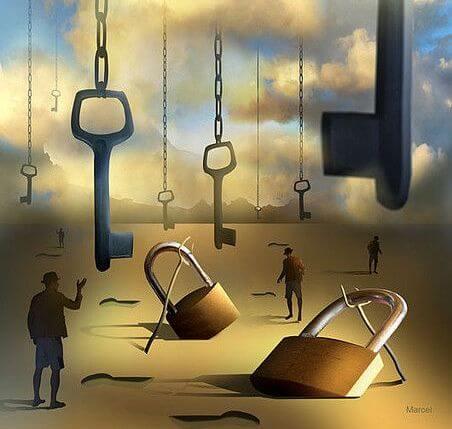 llaves que representan nuestros prejuicios