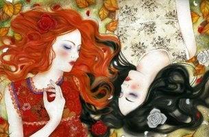 Mujer juntas