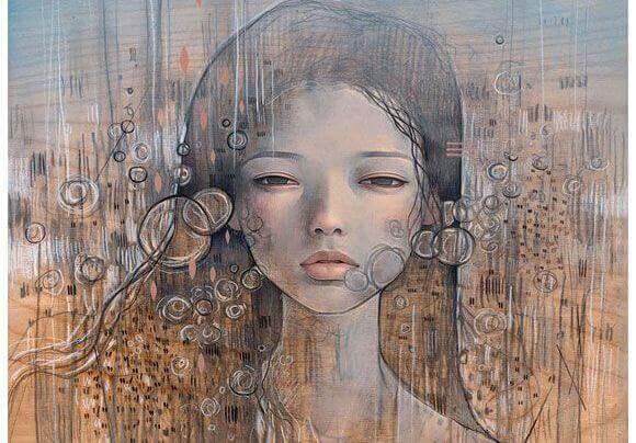 Mujer en silencio