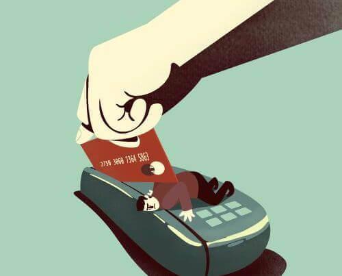 Pasar tarjeta de crédito