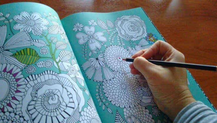 Pintar de colores el estrés, una nueva forma de relajarse