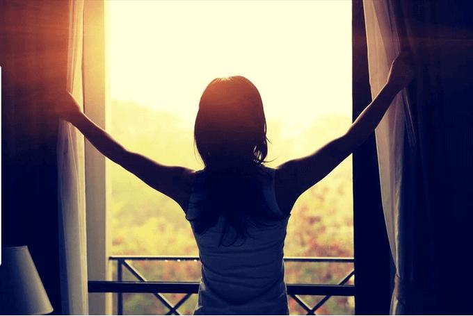Ver la luz a través de ser consciente