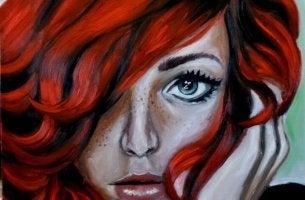Mujer imperfecta pero bella