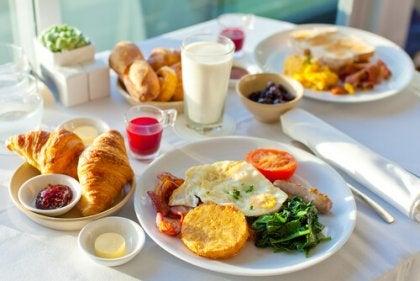 Desayuno equilibrado para empezar el día