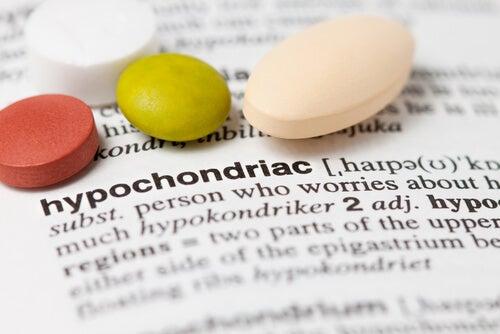 Palabra hipocondría en el diccionario