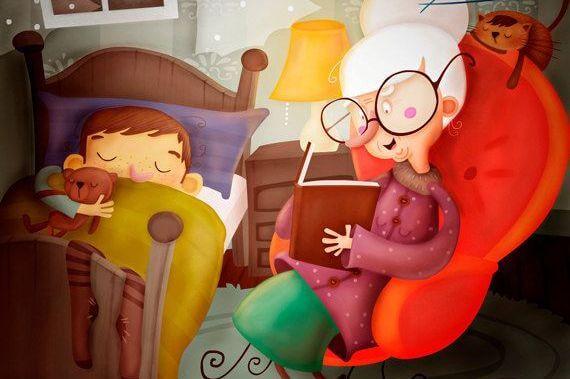 abuela-leyendo-a-sus-nietos