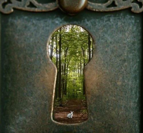 cerradura representando un trauma
