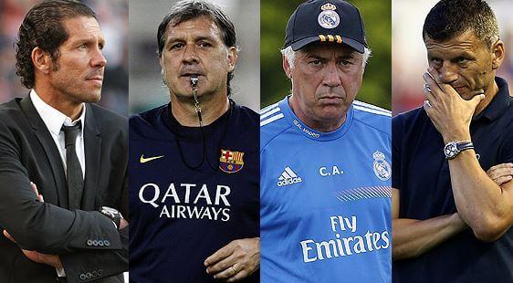 Entrenadores de futbol