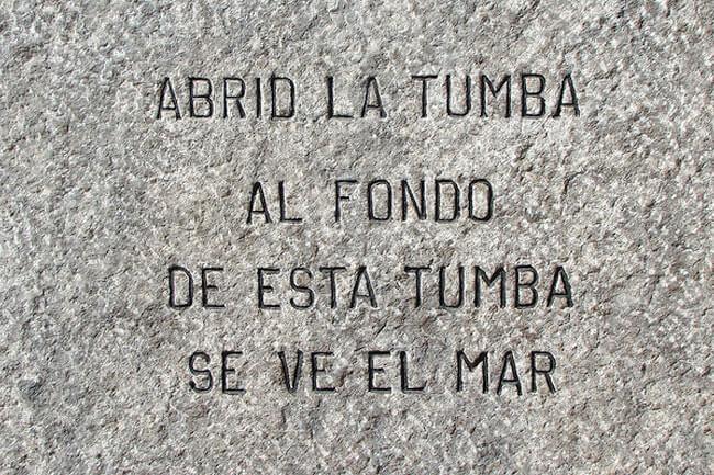 epitafio de Vicente Huidobro