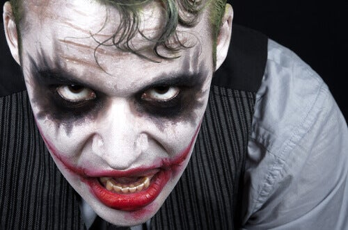 Personaje de Batman con psicopatía