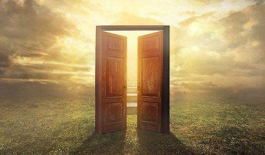 Image result for men opening the door