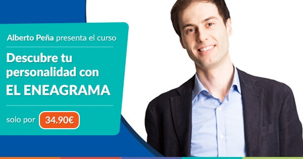 Banner de curso eneagrama de Alberto Peña