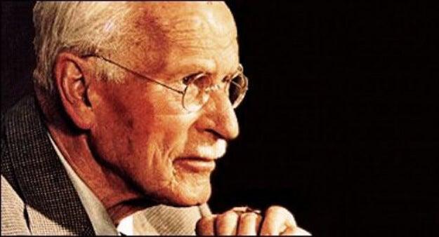 Cara de Carl Gustav Jung