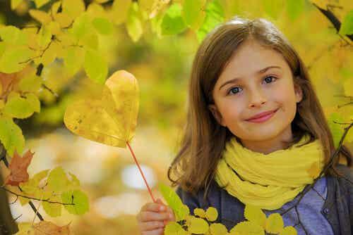 Un niño amable es un niño sano