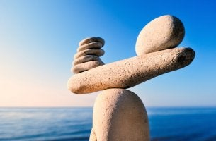Piedras equilibradas unas sobre otras