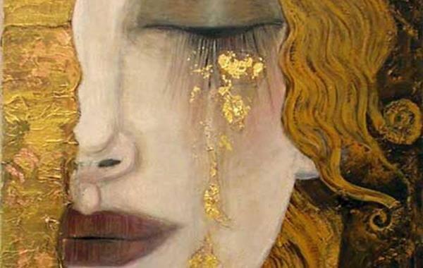 ilustracion de Gustav Klimt