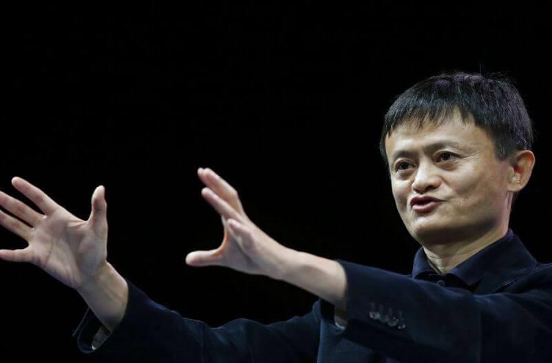 Jack Ma dando consejos de superación y logro