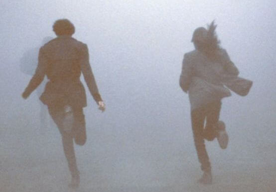 pareja corriendo