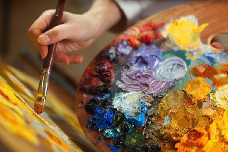 La pintura como terapia