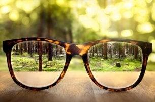 Gafas mostrando realidades