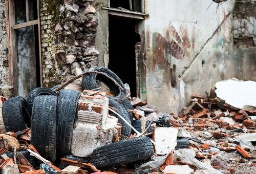 Edificio en ruinas
