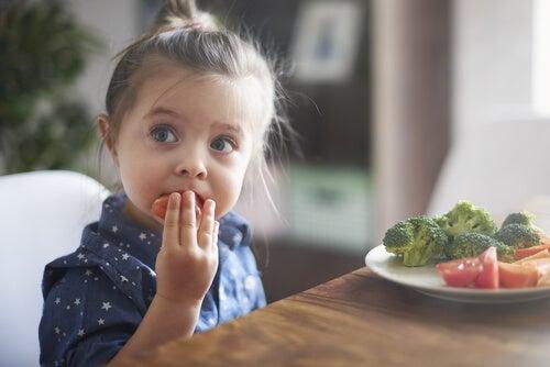 Cuando los niños no quieren comer animales