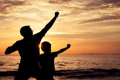 ¿Eres el héroe de tus hijos?