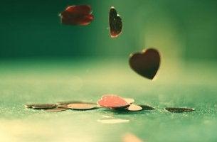 Chapas de corazones