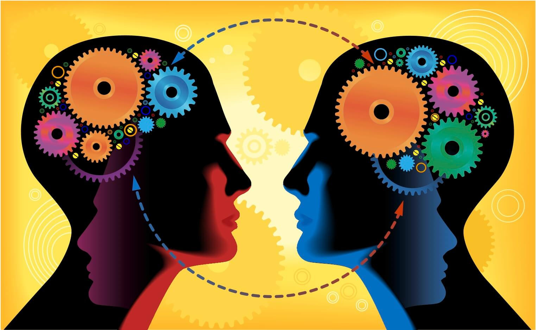 dos-cabezas-conectando-dibujadas-con-figuras-geometricas