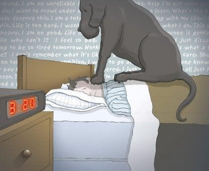 La depresión no te deja levantar de la cama
