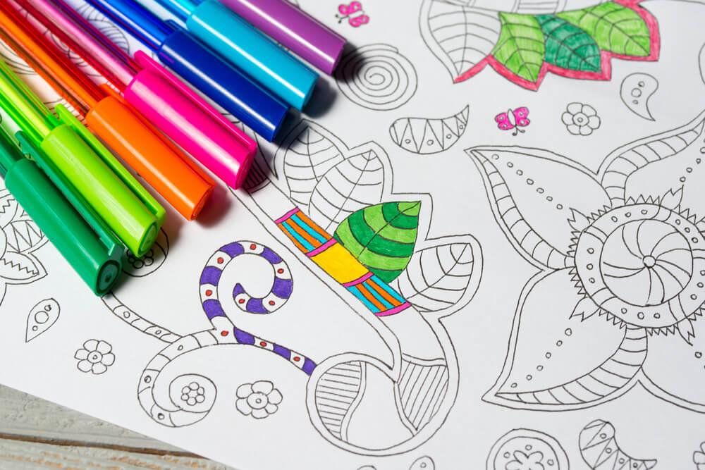 Los beneficios de colorear mandalas - La Mente es Maravillosa