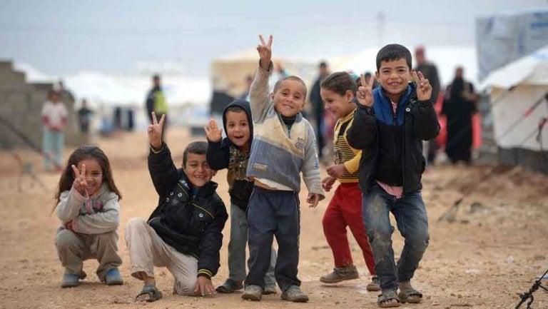 Niños refugiados: corazones heridos en busca de esperanza