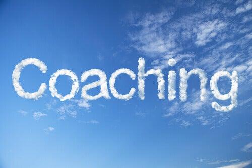 Nubes formando la palabra coaching