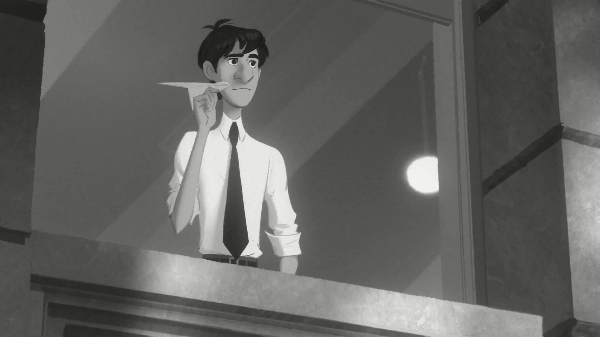 Paperman, imagen del protagonista