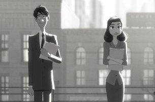 paperman, un corto donde se habla del destino