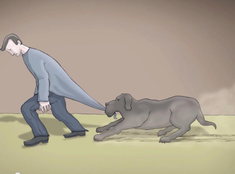 """""""Yo tenía un perro negro llamado depresión"""", el corto que nos ayuda a comprenderla"""