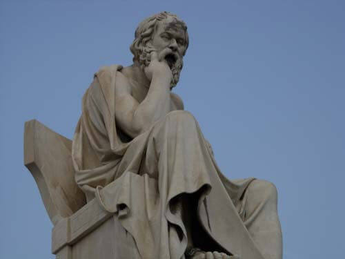 Estatua de Sócrates
