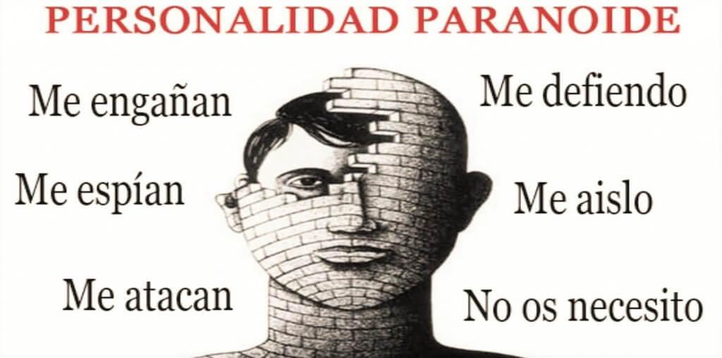 Frases de una personalidad paranoide