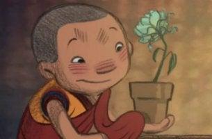 Dechen es el monje budista de soltar el control