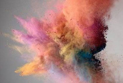 explosion-de-color en desorden