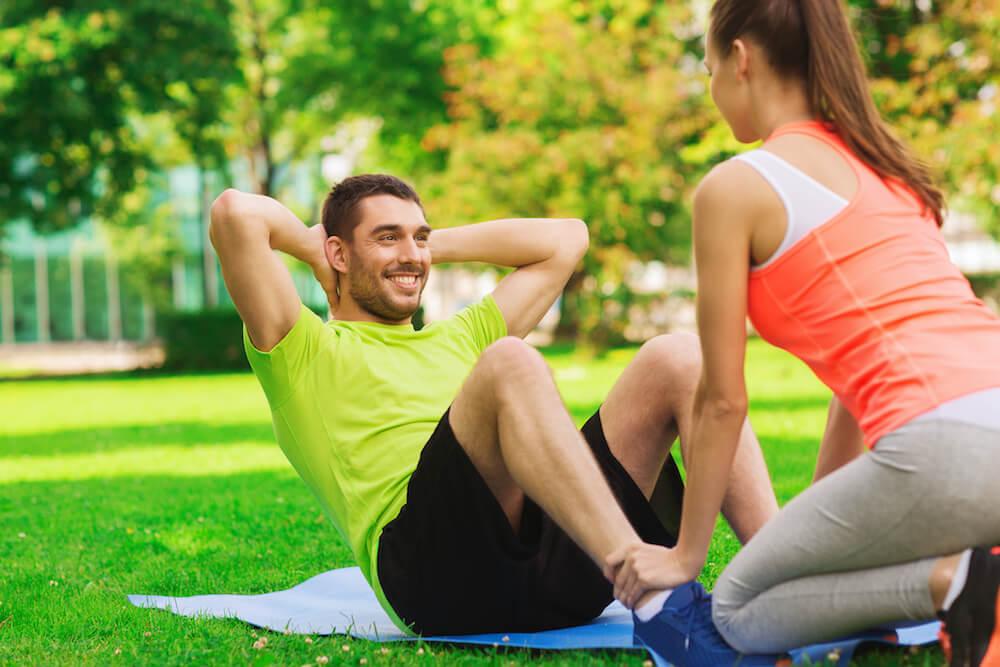 Hacer ejercicio en la naturaleza