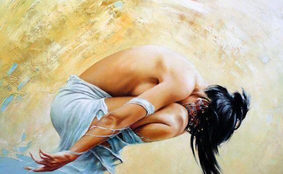 ilustracion-mujer-agachada-pensando-en-lo-que-quieres