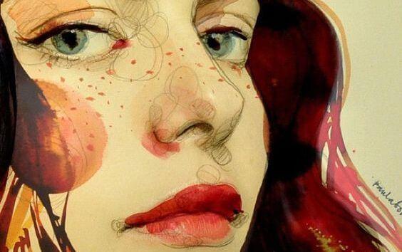 ilustración de una mujer que no espera a que los demás actuen