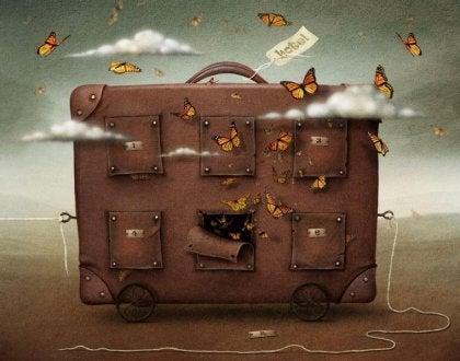 El volumen de tu equipaje es equivalente al de tus apegos