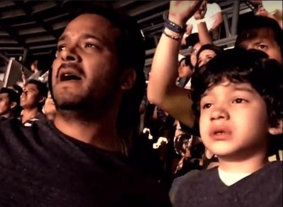 Estas son las lágrimas de emoción de un niño con autismo en un concierto de Coldplay