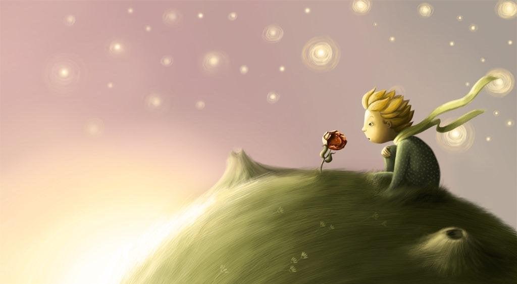 Resultado de imagen de el principito y su rosa