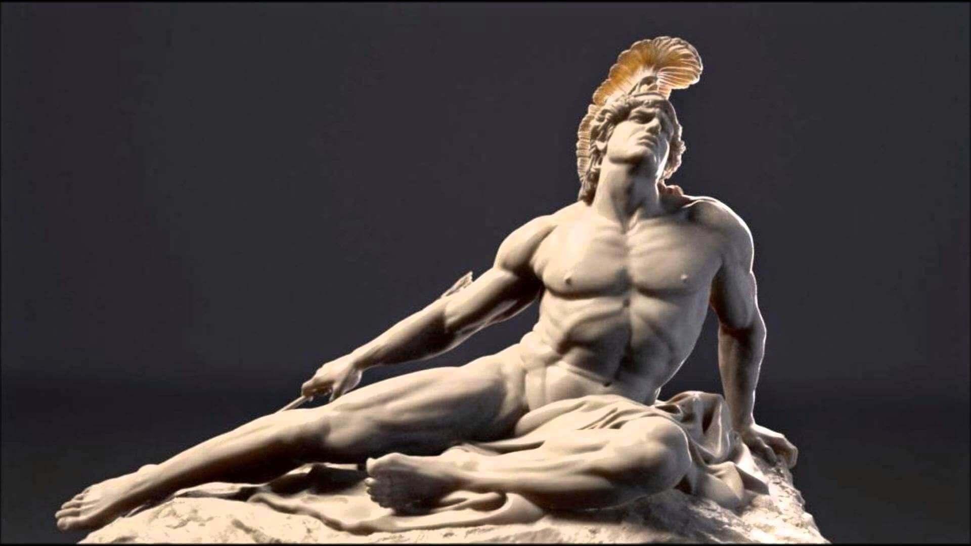 Figura de Aquiles