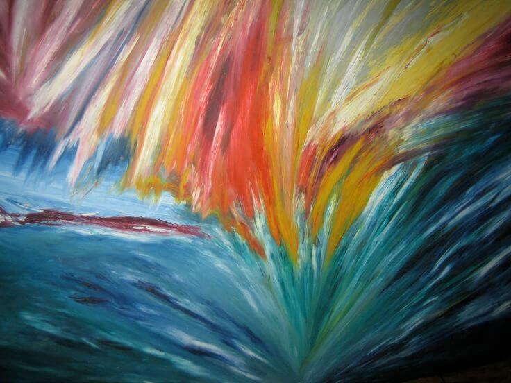 Dibujo y pintura de Mary Barnes