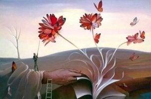 libro-con-flores