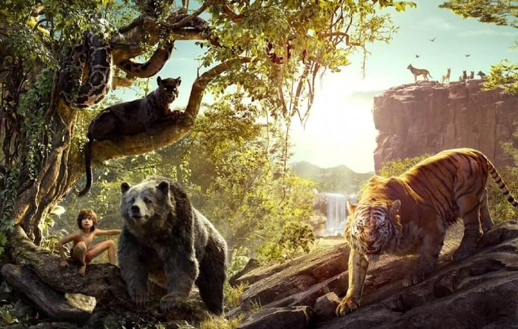 """Las 5 enseñanzas de """"El libro de la selva"""" a los niños"""
